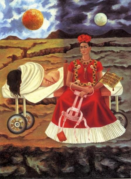 árbol de la esperanza, mantente firme . frida kahlo